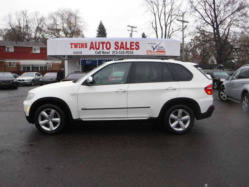 2008 BMW X5 30SI AWD 4DR SUV white 2008 bmw x5 30si awd  super cleanmust seewe finance