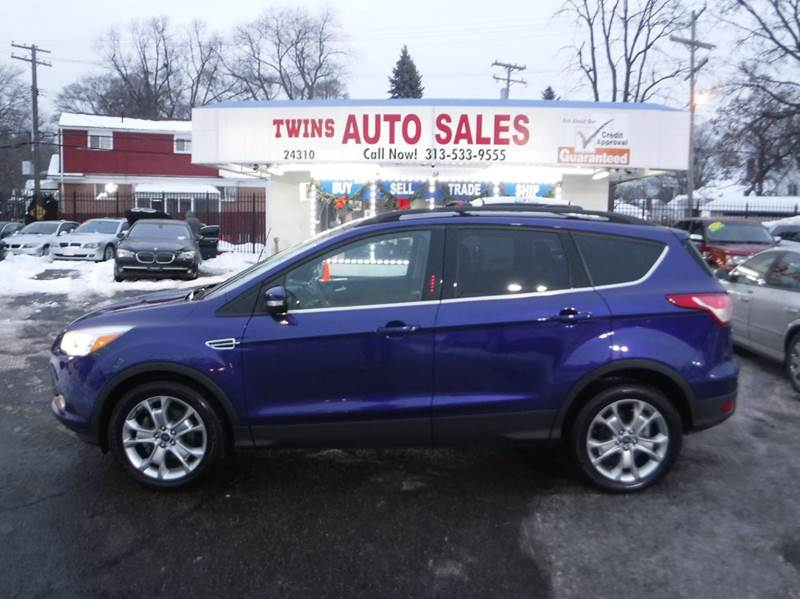 2013 FORD ESCAPE SEL 4DR SUV blue 2013 ford escape sel like newlow milesfinancing available