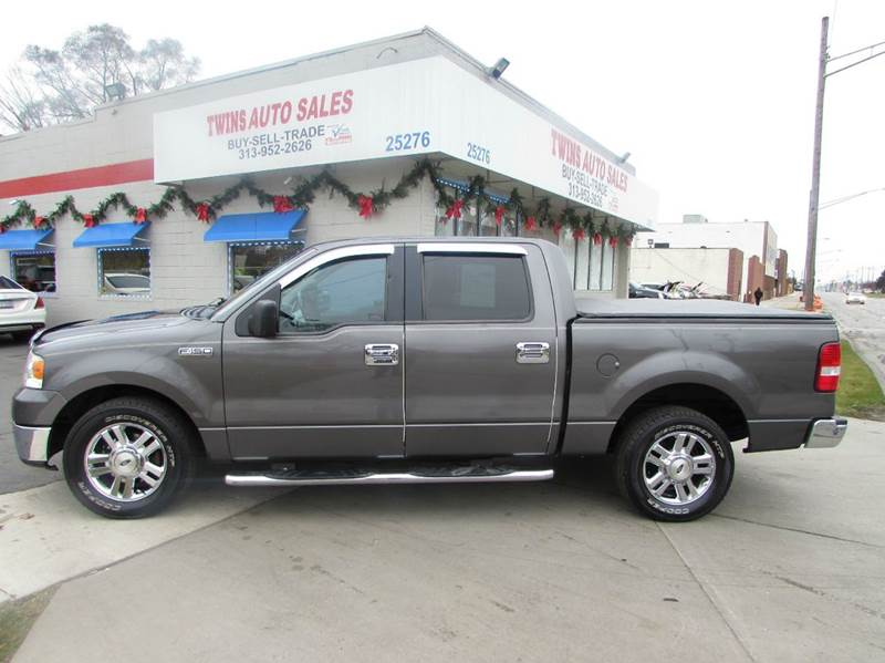 2006 FORD F-150 XLT 4DR SUPERCREW STYLESIDE 55 gray 2006 ford f150 xlt perfect conditionlowe