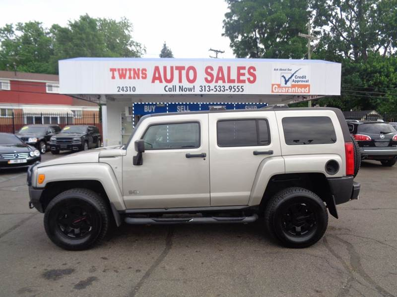 2007 HUMMER H3 BASE 4DR SUV 4WD gray 2007 hummer h3 super cleanmust seewe finance auto 4