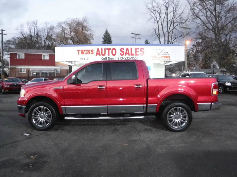 2007 LINCOLN MARK LT BASE 4DR SUPERCREW 4WD red 2007 lincoln mark lt 4wd must see  super c