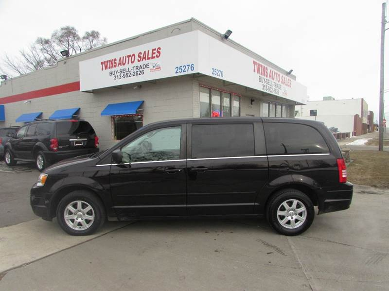 2010 CHRYSLER TOWN AND COUNTRY LX 4DR MINI VAN W25B black 2010 chrysler town  country lx super