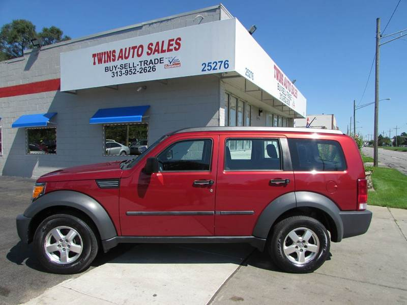 2007 DODGE NITRO SXT 4WD 4DR SUV red 2007 dodge nitro sxt super cleanmust seewe finance v