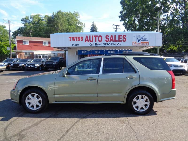 2004 CADILLAC SRX BASE RWD 4DR SUV V6 green 2004 cadillac srx super cleanmust seewe finance