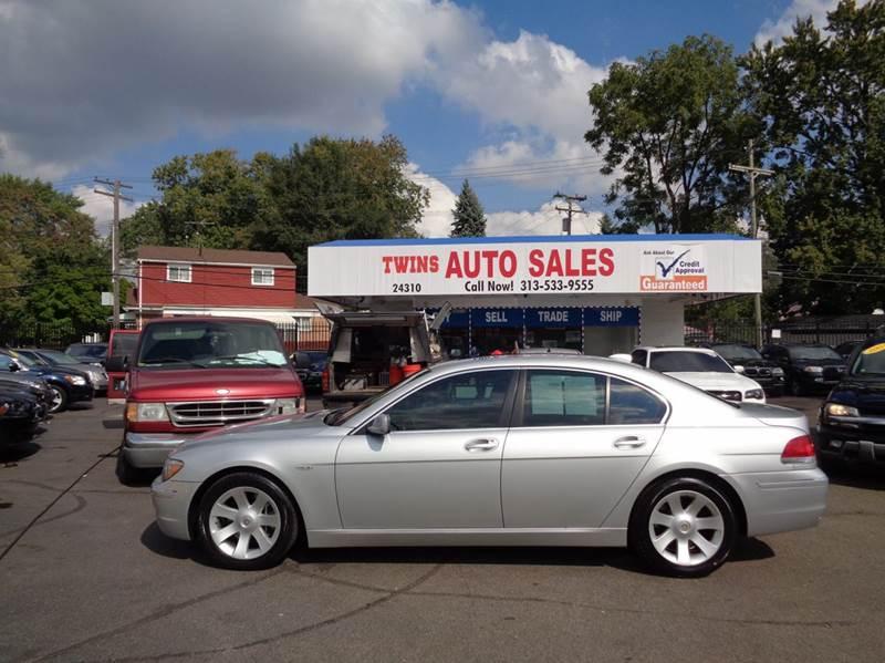 2006 BMW 7 SERIES 750I 4DR SEDAN silver 2006 bmw 750 i super cleanmust seewe finance v8 a