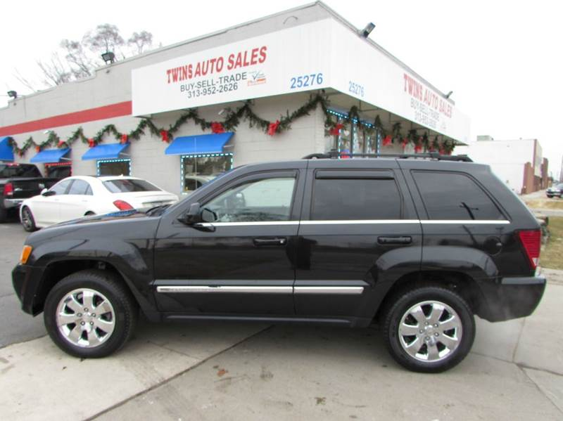 2009 JEEP GRAND CHEROKEE LIMITED 4X4 4DR SUV black 2009 jeep grand cherokee limitedsuper clean