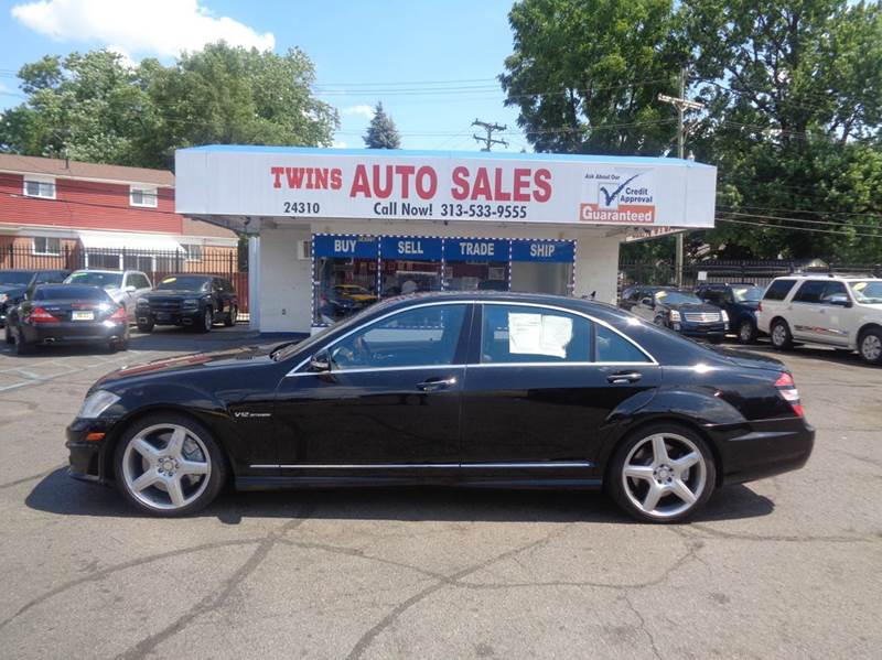 2007 MERCEDES-BENZ S-CLASS S65 AMG 4DR SEDAN black 2007mercedes benz s 65 amg super cleanlow m
