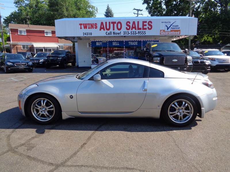2005 NISSAN 350Z TOURING 2DR COUPE silver 2005 nissan 350z touring super cleanmust seewe fi