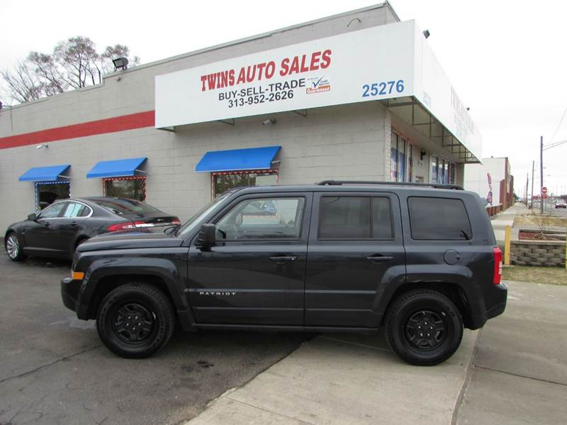 2016 JEEP PATRIOT SPORT 4DR SUV gray 2016 jeep patriot sport like newlow milesfinancing avai
