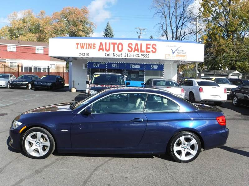 2011 BMW 3 SERIES 335I 2DR CONVERTIBLE blue 2011 bmw 335 i convertible super cleanmust seew