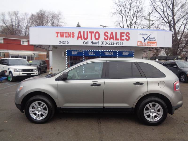 2008 FORD EDGE SE 4DR SUV silver 2008 ford edge se super cleanmust seewe finance v6 auto