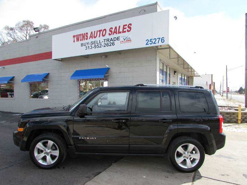 2012 JEEP PATRIOT LIMITED 4DR SUV black 2012 jeep patriot limitedsuper cleanmust seewe finan