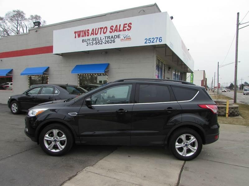 2014 FORD ESCAPE SE 4DR SUV black 2014 ford escape se like newlow milesfinancing available