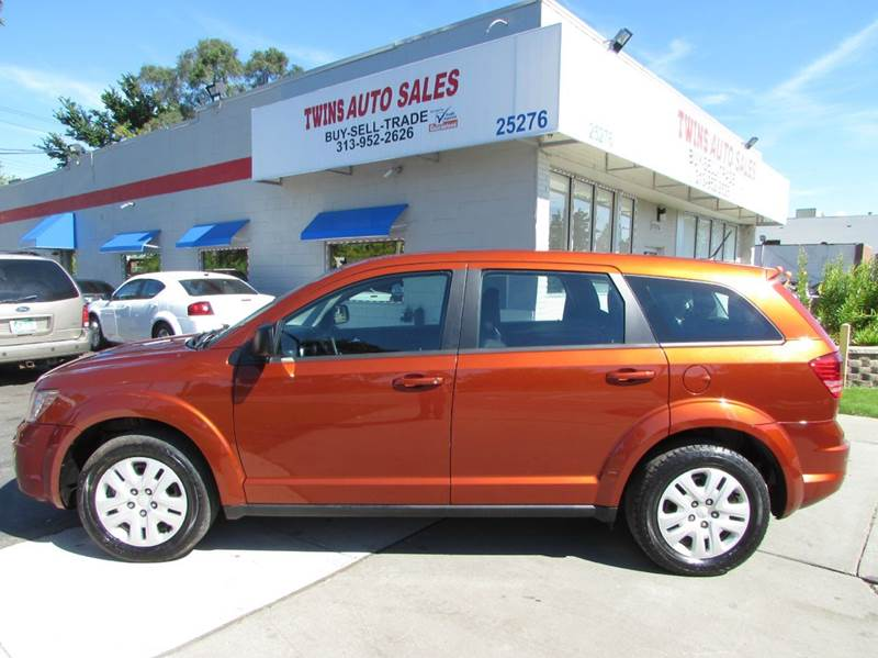 2014 DODGE JOURNEY SE 4DR SUV orange 2014 dodge journey se super cleanlow mileswe finance