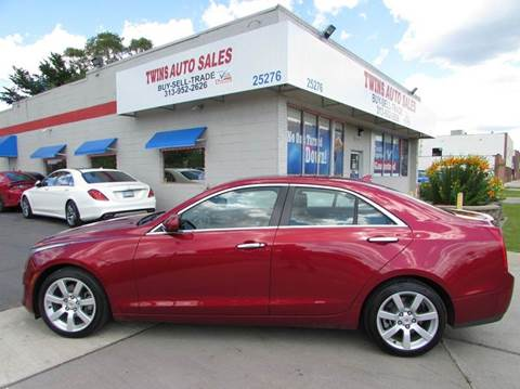 2014 Cadillac ATS for sale in Redford, MI