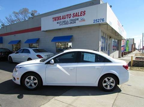 2016 Chevrolet Cruze Limited for sale in Redford, MI