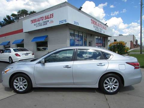 2014 Nissan Altima for sale in Redford, MI