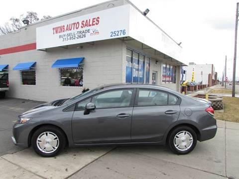 2013 Honda Civic for sale in Redford, MI