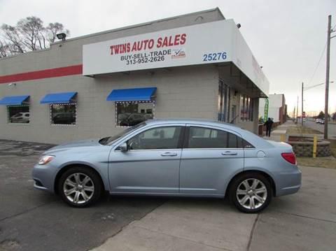 2012 Chrysler 200 for sale in Redford, MI