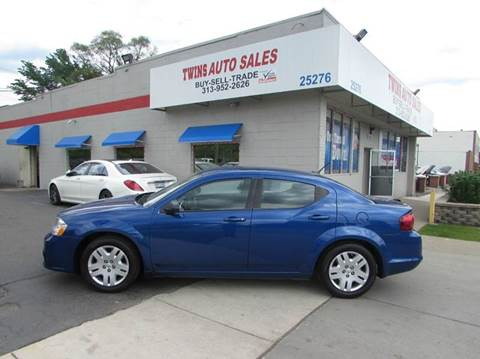 2013 Dodge Avenger for sale in Redford, MI