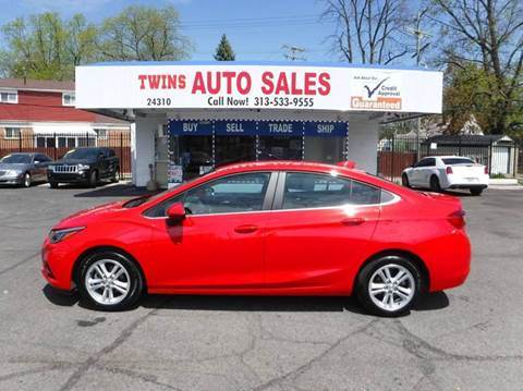 2016 Chevrolet Cruze for sale in Detroit, MI