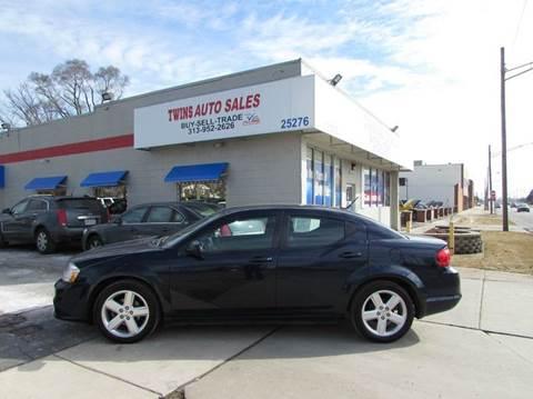 2013 Dodge Avenger for sale in Redford, MI
