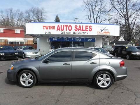 2013 Dodge Avenger for sale in Detroit, MI