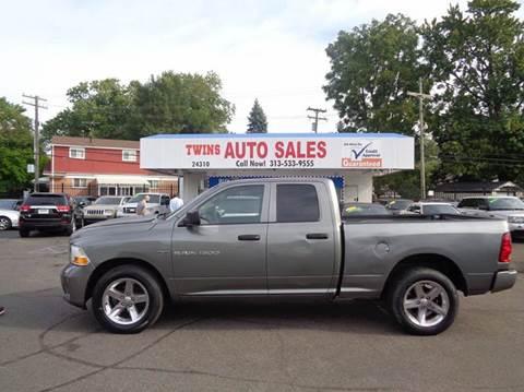 2012 RAM Ram Pickup 1500 for sale in Detroit, MI