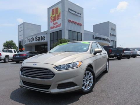 2015 Ford Fusion for sale in Lawrenceburg, KY