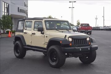 2011 Jeep Wrangler Unlimited for sale in Lawrenceburg, KY