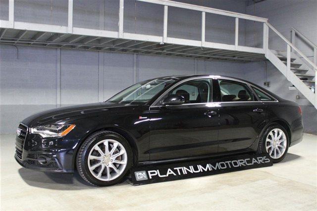 used 2012 audi a6 3 0t quattro premium in troy mi at platinum motor cars. Black Bedroom Furniture Sets. Home Design Ideas