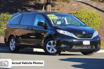 2012 Toyota Sienna for sale in Vallejo, CA