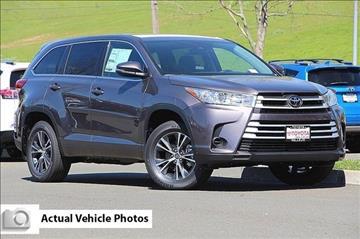 2017 Toyota Highlander for sale in Vallejo, CA