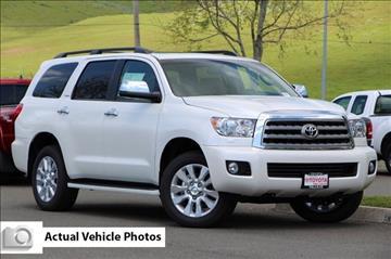 2017 Toyota Sequoia for sale in Vallejo, CA