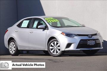 2016 Toyota Corolla for sale in Vallejo, CA
