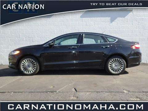 2016 Ford Fusion for sale in Omaha NE