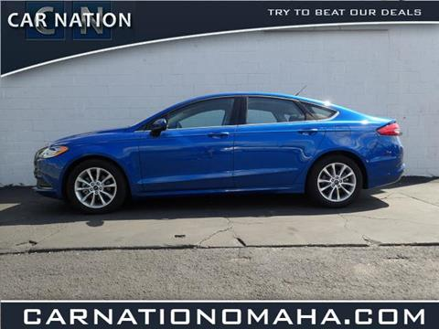 2017 Ford Fusion for sale in Omaha NE