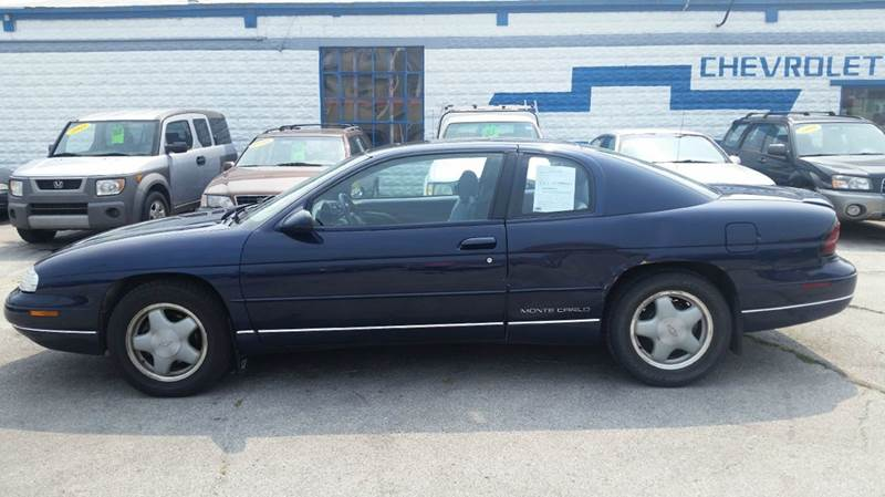 1998 chevrolet monte carlo for sale in stuart ia. Black Bedroom Furniture Sets. Home Design Ideas