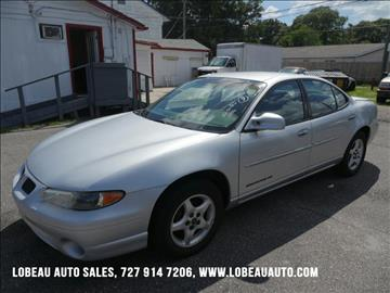 2002 Pontiac Grand Prix for sale in Saint Petersburg, FL