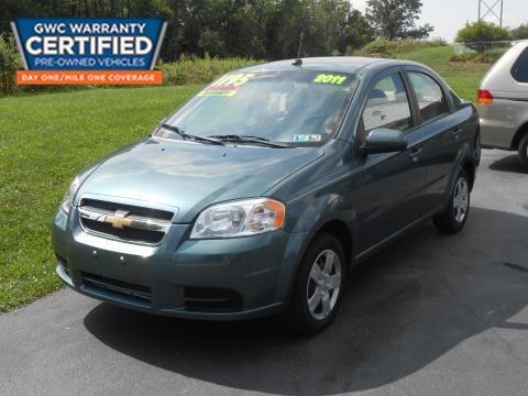 2011 Chevrolet Aveo for sale in York, PA