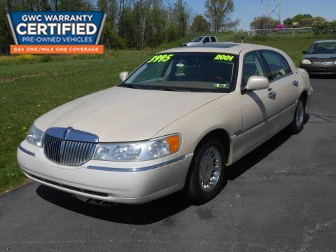 2001 Lincoln Town Car for sale in York, PA