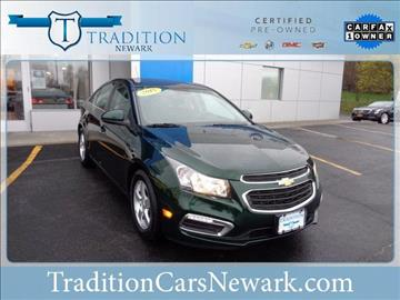 2015 Chevrolet Cruze for sale in Newark, NY