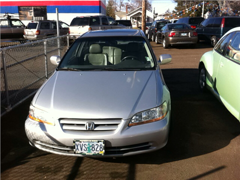 2001 Honda Accord for sale in Molalla, OR