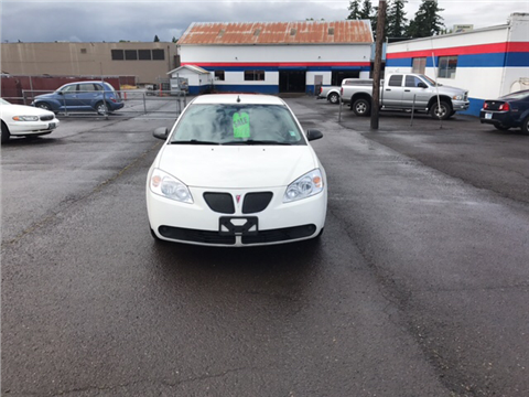 2008 Pontiac G6 for sale in Molalla, OR