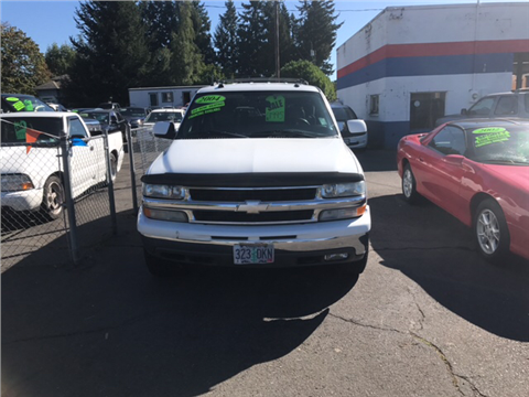 2004 Chevrolet Tahoe for sale in Molalla, OR