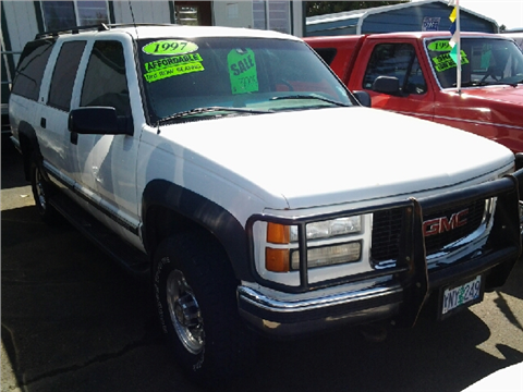 1997 GMC Suburban for sale in Molalla, OR