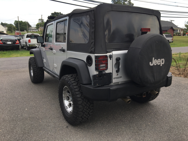 2007 Jeep Wrangler Unlimited X 4x4 4dr SUV - Fredericksburg VA