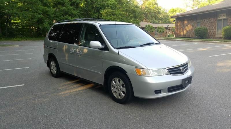 2003 Honda Odyssey EX L w/DVD 4dr Mini Van and Leather - Fredericksburg VA