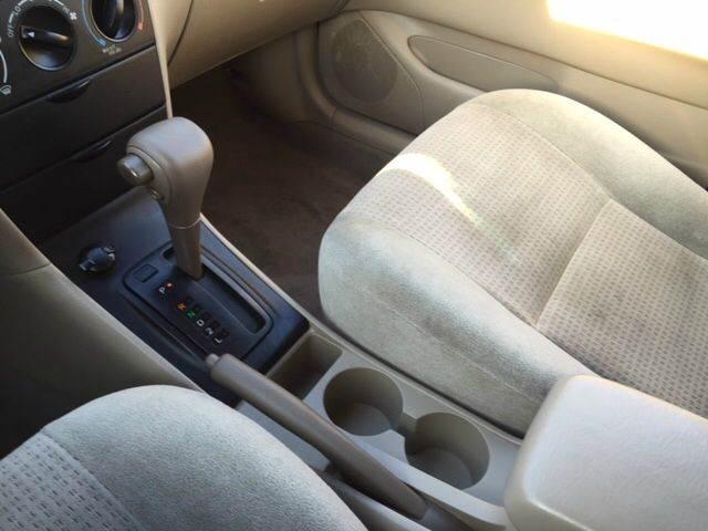 2008 Toyota Corolla CE 4dr Sedan 4A - Fredericksburg VA