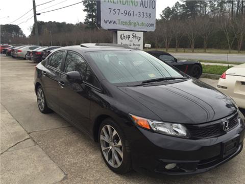 2012 Honda Civic for sale in Virginia Beach, VA
